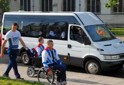 special needs transport service